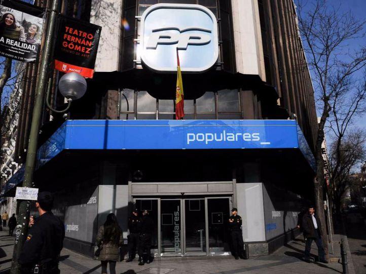 El PP, al banquillo de los acusados por daños informáticos