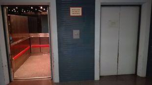 Se descuelga un ascensor del Hospital de Getafe