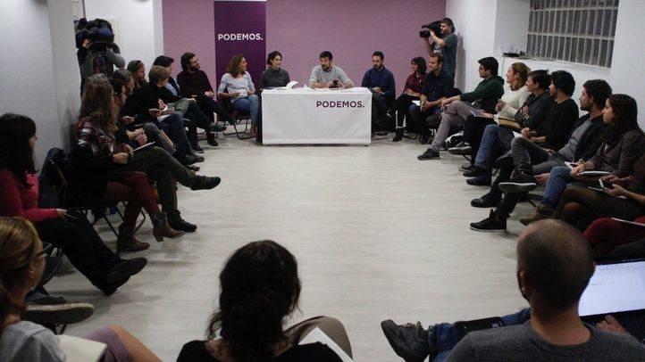 Reunión del Consejo ciudadano de Podemos Comunidad de Madrid