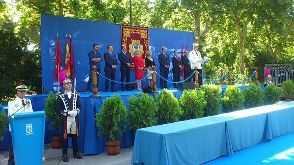 Celebración del día del patrón de la Policía Municipal de Madrid.