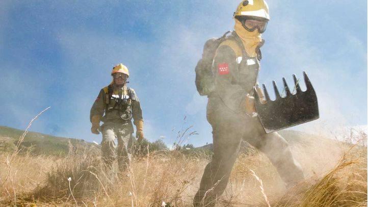 Brigadas de bomberos forestales