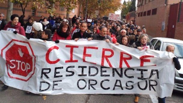 Usera, contra el cierre de la Residencia San José