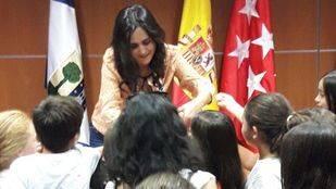 María Teresa Príncipe Gómez, profesora en el colegio Juan Falcó de Valdemorillo y nominada entre las diez mejores maestras de Primaria a los premios Educa Abanca 2017