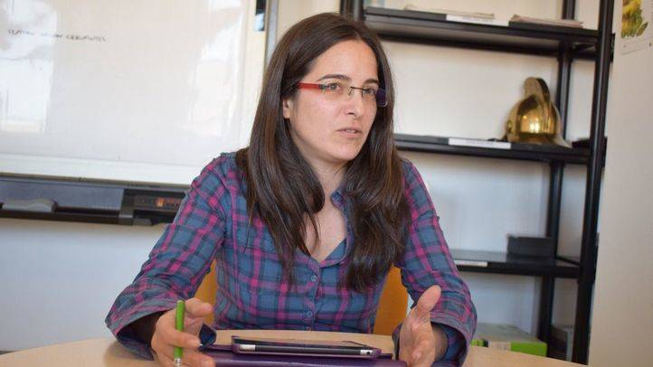 Biranda Yáñez, portavoz de Equo Alcalá de Henares