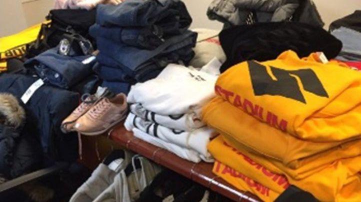 Detenidos por robar ropa en el barrio de Salamanca