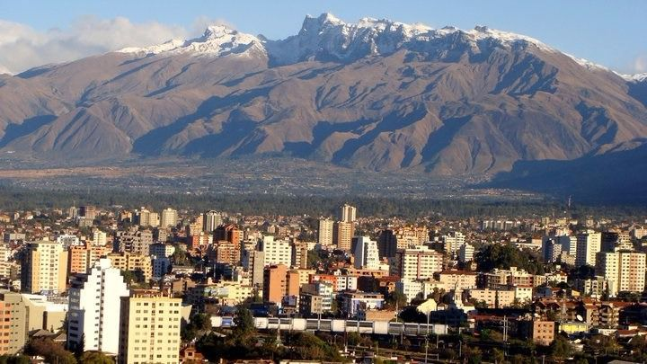 Vente a Bolivia, vente a Cochabamba