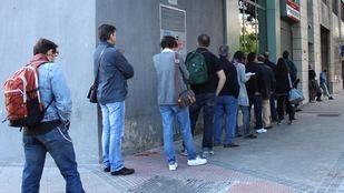 Noviembre deja 8.000 personas fuera de las listas del paro