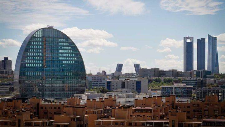Barrio de Las Tablas en Madrid.