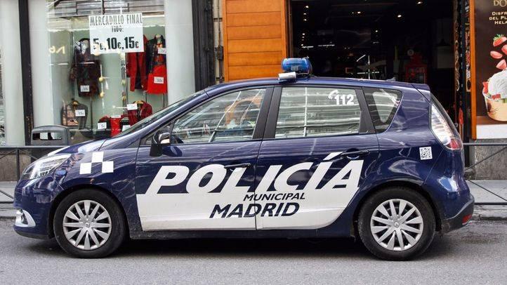 Imagen de archivo de un coche de la Policía Municipal.