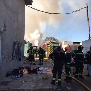 Los bomberos han acudido a la zona