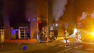 Explosión de gas en la calle Alicante