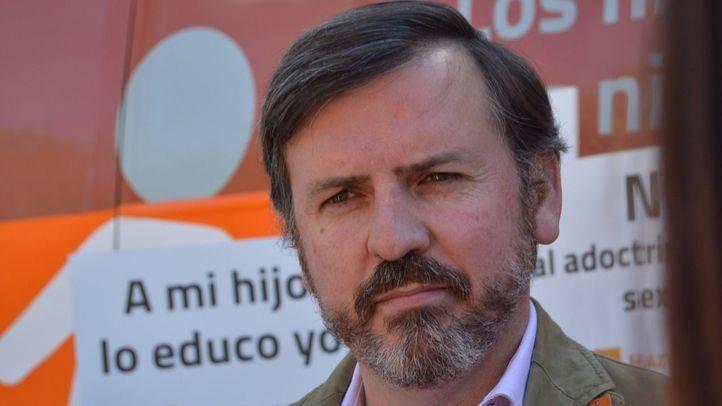 Foto de archivo de Ignacio Arsuaga, presidente de 'Hazte Oír'.