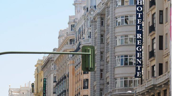 Foto de archivo de hoteles en Gran Vía