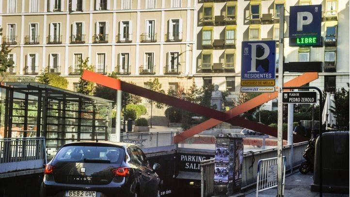 Parking público de la plaza de Pedro Zerolo