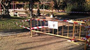 Empiezan las obras de instalación de un huerto urbano en Chamberí