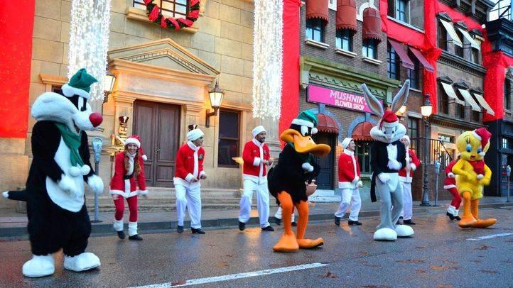 Los parques de atracciones se visten de Navidad