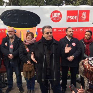 Homenaje al fundador del PSOE