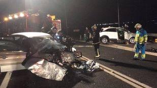 Dos personas muertas en un accidente de tráfico