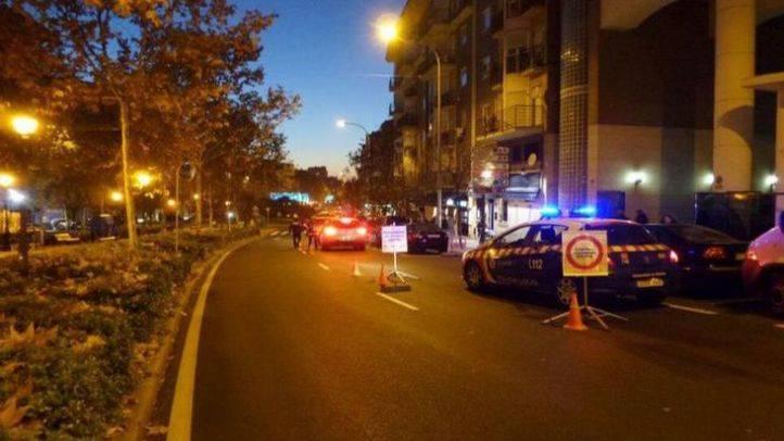 Control de alcohol y drogas en la Avenida Retamas, en Alcorcón