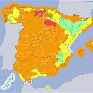 Aviso naranja: Madrid no se libra de 'Ana'
