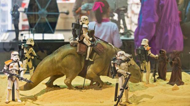 Expo Wars, colección sobre Star Wars en el WiZink Center