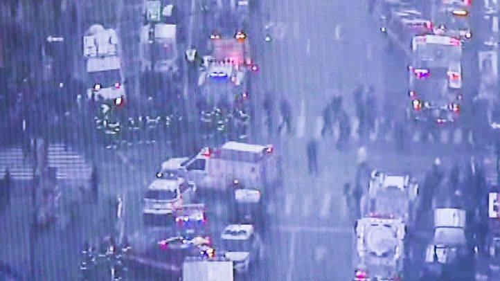 Atentado en Manhattan: un detenido y cuatro heridos