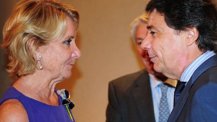 González señala a Aguirre por la financiación ilegal del PP