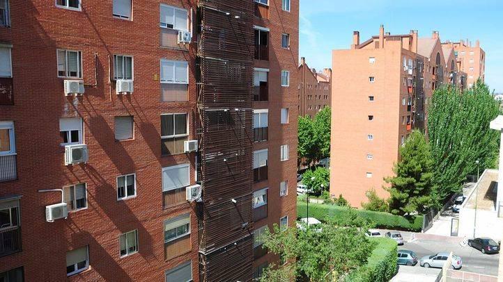 Imagen de archivo de viviendas en Madrid.