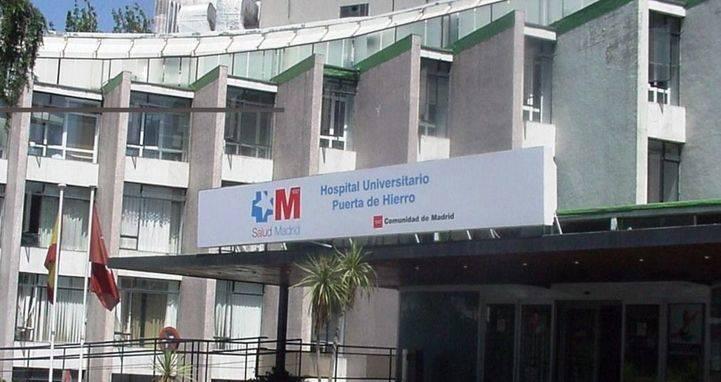 Antiguo Hospital Puerta de Hierro, en la calle San Martín de Porres