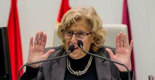 Manuela Carmena regatea su posible candidatura