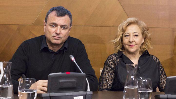 La autora de las meninas, con Carmen Machi
