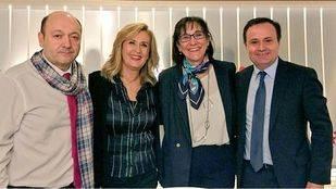 Susana Pérez Quislant alcaldesa de Pozuelo de Alarcón, y Ángel Viveros, alcalde de Coslada, en Com.Permiso, de Onda Madrid.