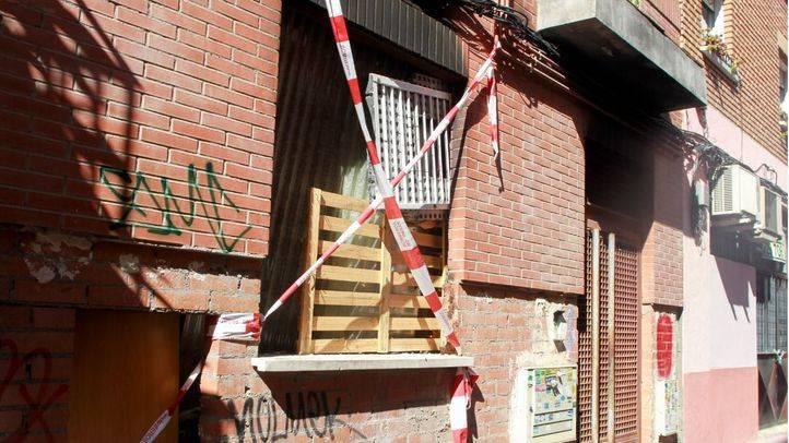 Casa okupa en la calle Juanita número 10.