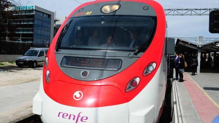 Cabina de Tren de Cercanías Renfe.