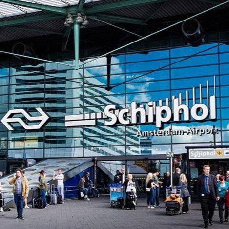 Aeropuerto de Schiphol en Ámsterdam