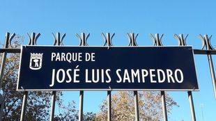 Chamberí homenajea a José Luis Sampedro