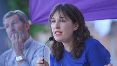 María Espinosa, portavoz adjunta de Podemos en la comisión de investigación de la Asamblea de Madrid