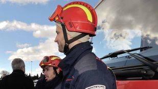 Foto de archivo de bomberos de la Comunidad de Madrid