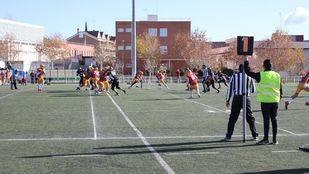 Las Rozas acoge la final de la Liga Madrileña de Fútbol Americano