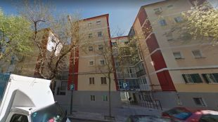 Calle Luis Ruiz número 17, donde ha ocurrido el suceso.