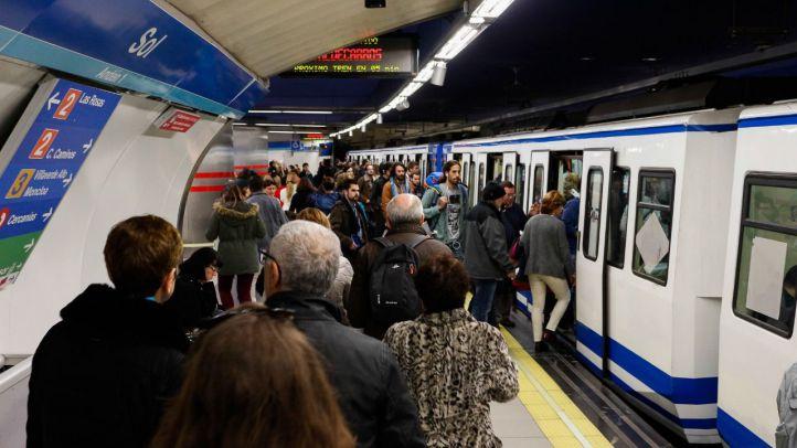 Foto de archivo del Metro.