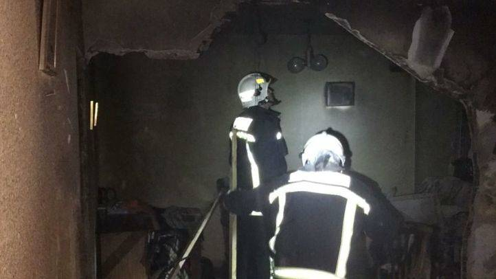 Una explosión de gas butano en una vivienda de Griñón deja cinco heridos