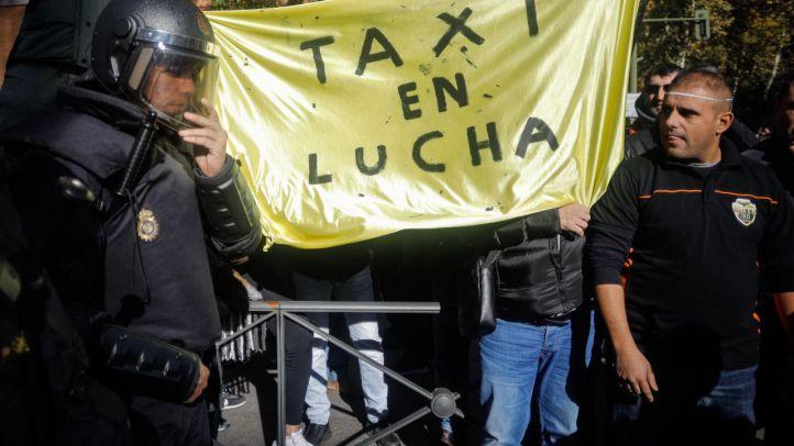 Los taxistas vencen a Uber en Estrasburgo