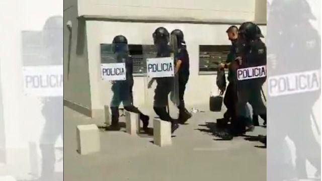 Imagen de la detención.