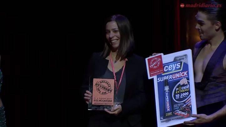 """Imagen de la gala """"Producto del Año""""."""