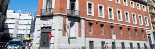 El edificio de Paseo del Prado 30 está okupado por La Ingobernable.