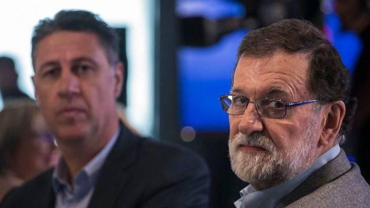 Albiol y Rajoy.