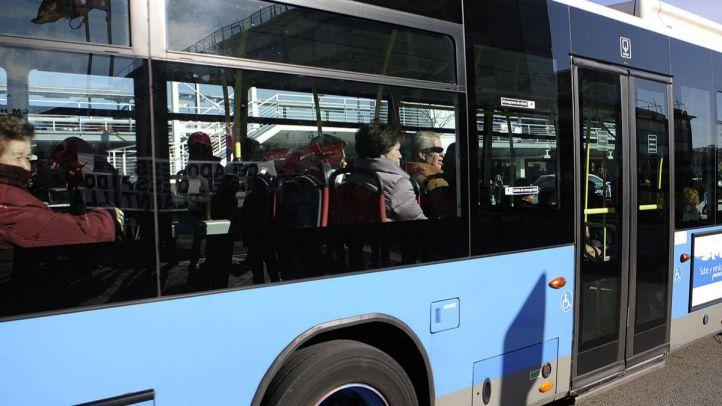 Otro posible líquido abrasivo en un autobús
