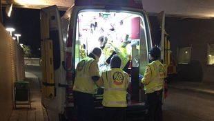 Los servicios de Emergencias Madrid han trasladado al hospital al herido
