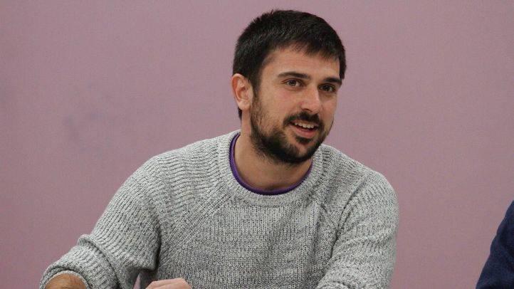 Ramón Espinar, secretario general del Consejo ciudadano de Podemos en la Comunidad de Madrid.